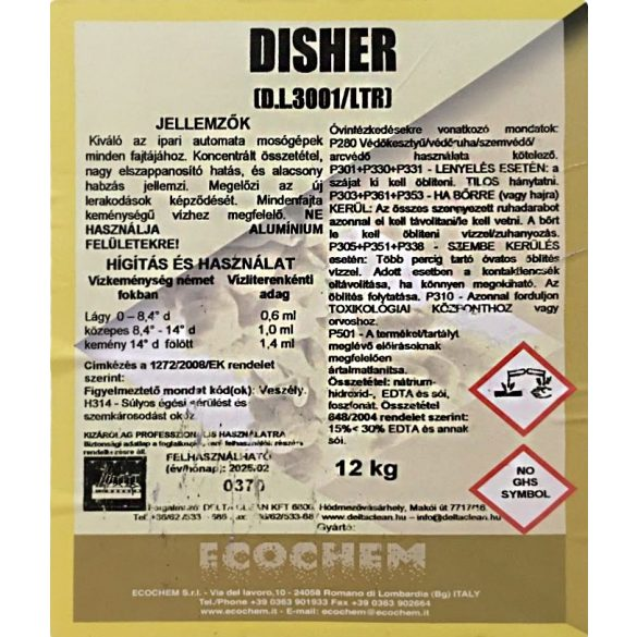 Disher 12 kg