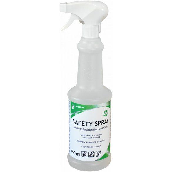 Safety Spray 750 ml - Alkoholos fertőtlenítőszer és tisztítószer