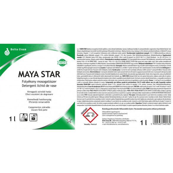 Maya Star 1L - Folyékony kézi mosogatószer