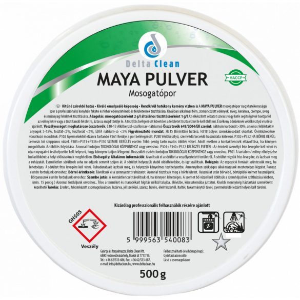 Maya Pulver 500 g - Mosogatópor