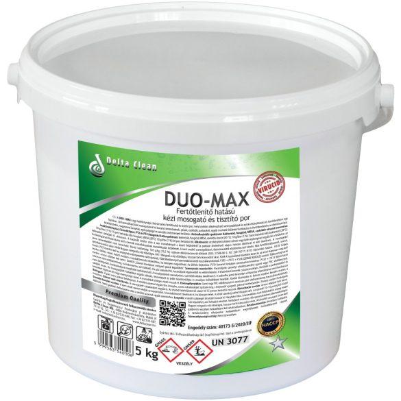 Duo-Max 5 kg - Fertőtlenítő hatású kézi mosogató és tisztítópor
