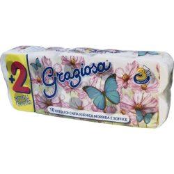 Wc papír Graziosa 3r. 8+2 tekercs