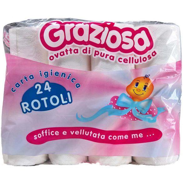 Wc papír Graziosa 2r. 24 tekercs