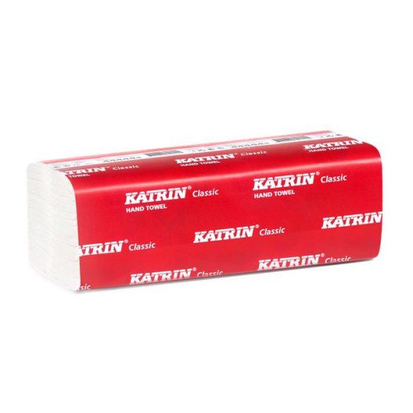 """Kéztörlő """"V"""" 2 rétegű Katrin 150x21 4000 lap"""