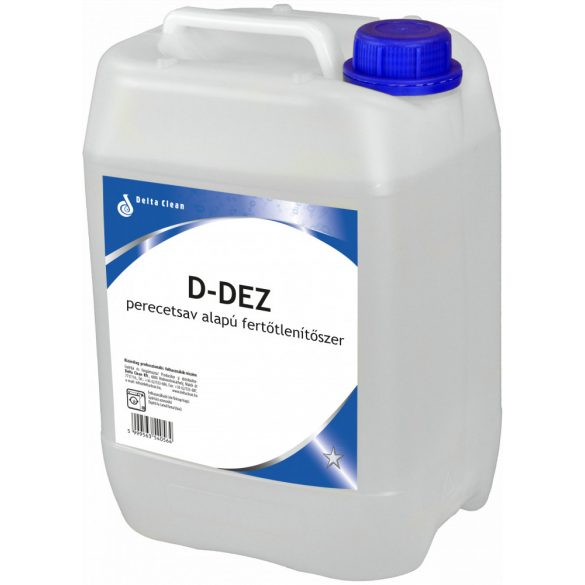 D-Dez 30 kg - Perecetsav alapú textilfertőtlenítő