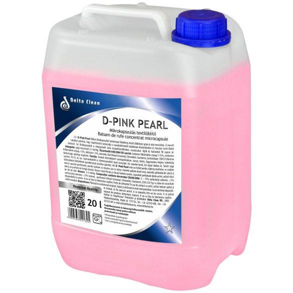 D-Pink Pearl 20l - Mikrokapszulás textílöblítő