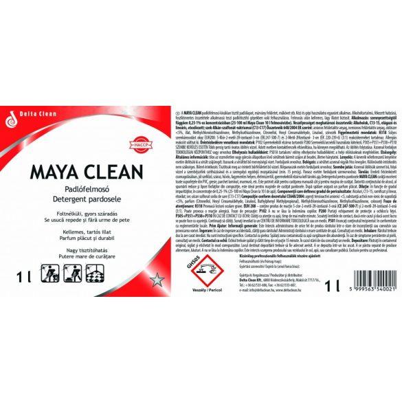 Maya Clean 1L - Alkoholos padló és felülettisztítószer