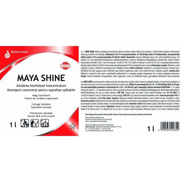 Maya Shine 1L - Általános padló és felülettisztítószer