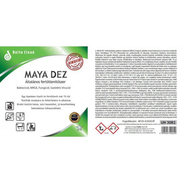 Maya Dez 750 ml - Fertőtlenítő hatású klórtartalmú tisztítószer