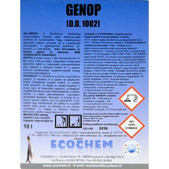 Genop 10L - Alaptisztító