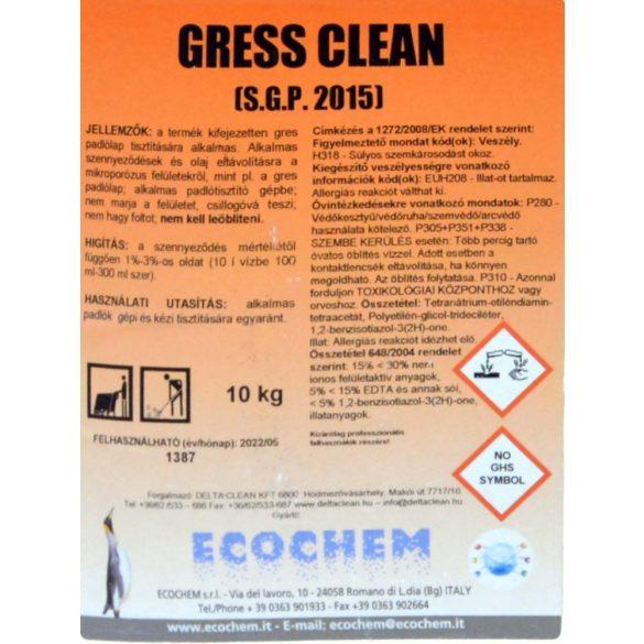 Gress Clean 10L - Greslap tisztító