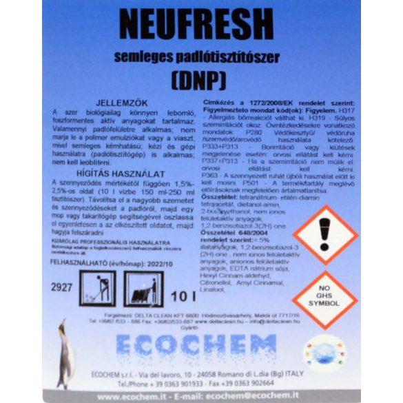 Neufresh 10L - Padlótisztítószer