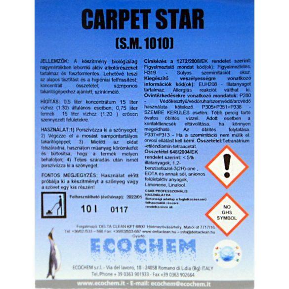 Carpet Star 10L - Habzó kézi szőnyegtisztító