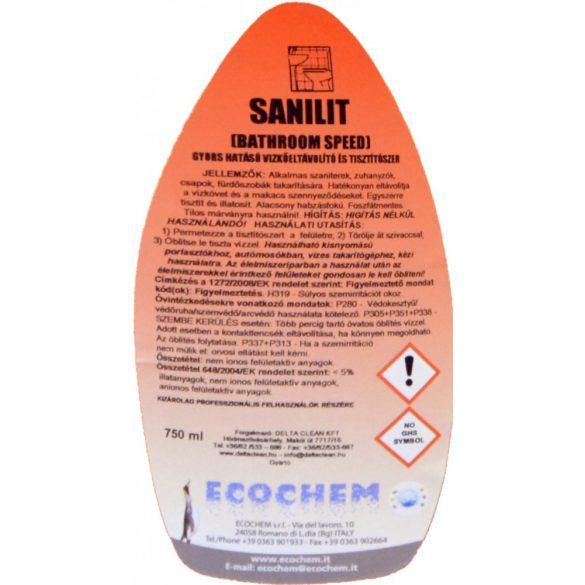 Sanilit 750 ml - Szanitertisztító