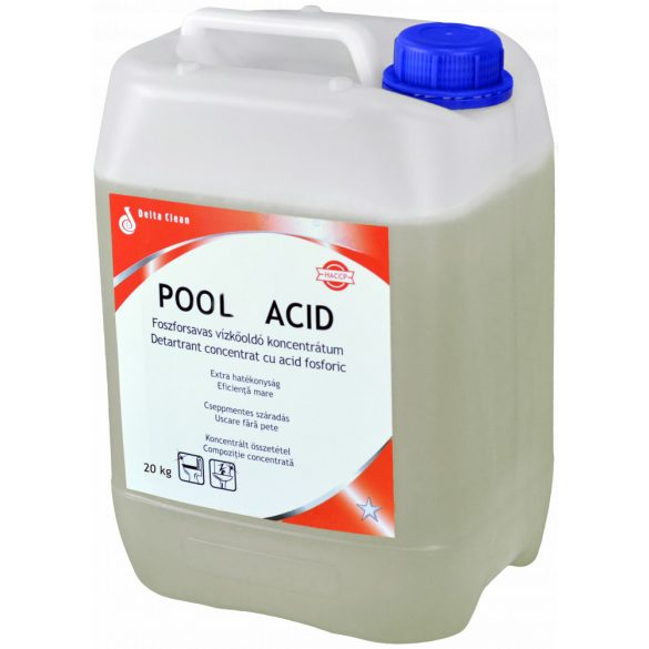 Pool Acid 20 kg - Medencetisztító koncentrátum