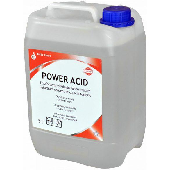 Power Acid 5L - Koncentrált vízkőoldó és savas tisztítószer