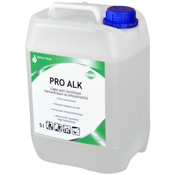 Pro Alk 5 kg - Lúgos ipari tisztítószer koncentrátum és lefolyótisztító