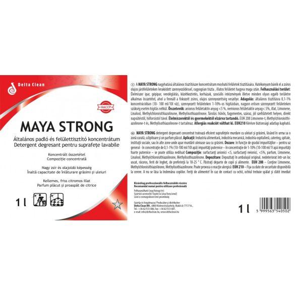 Maya Strong 1L - Intenzív padló és felülettisztítószer