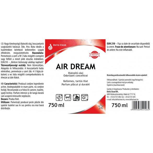 Air Dream 750 ml - Illatosító olaj